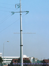 110KV electric power transmission steel monopole tower