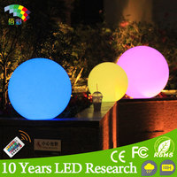 LED floating ball light / plastic LED Ball / waterproof pool LED Ball lights