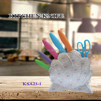 Professional 6pcs kitchen knife set with high quality KSA23-1