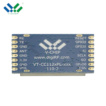Top Quality 1200Bps-200Kbps Data Rate Spi CC1120 Rf Amplifier Module