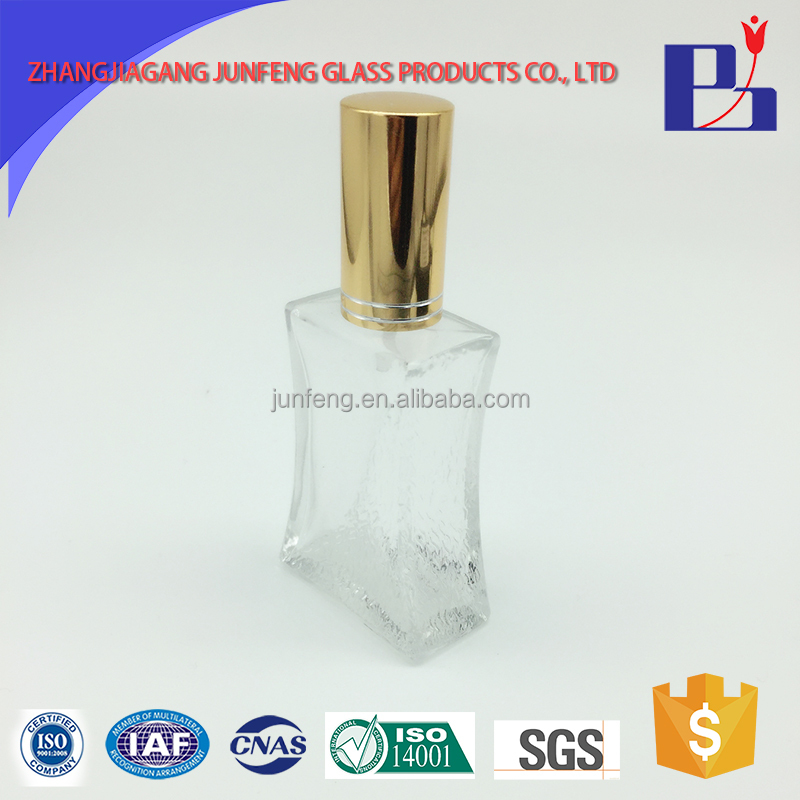 Junfeng 50ml Fashion cheap perfume glass packaging bottle