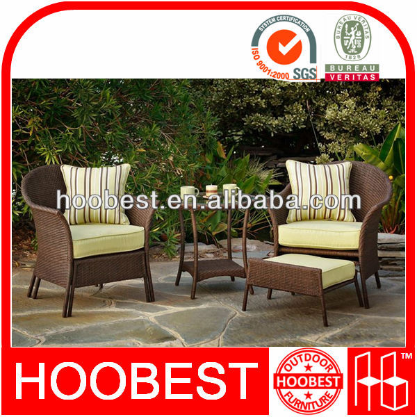 Lowes wicker patio furniture, Factory Manufacturer Direct Wholesale, Rattan outdoor garden relaxing conversation chair table set