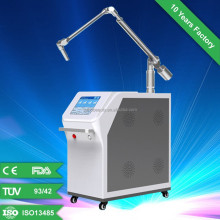 Long pulse Q-switch nd yag laser for medical use/Long pulse Q-switch nd yag laser with 532nm and 1064 nm for laser tattoo remvoa