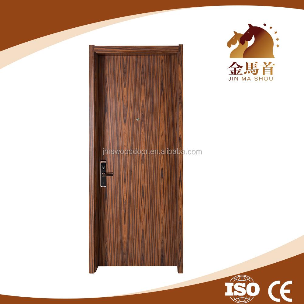 Soundproof Top Quality Mdf Bedroom Entry Doors Wooden Flush Interior Wooden Door Design For