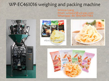 2017 latest prawn slices, shrimp cracker, shrimp flakes packing machine