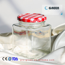 hot sale high quality 360ml glass jar for honey