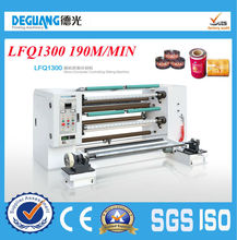 LFQ1300Model Good quality High speed advanced slitter rewinder machine paper roll