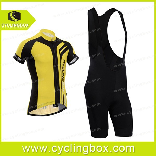 High-quality New design quick dry Cyclingbox Specialty Athletic apparel/outdoor cycling wear+bib shorts for men 2014