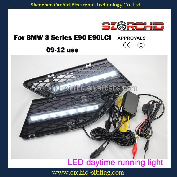 waterproof high quality led daytime running light DRL for BMW 3Series E90 E90LCI 09-12 use