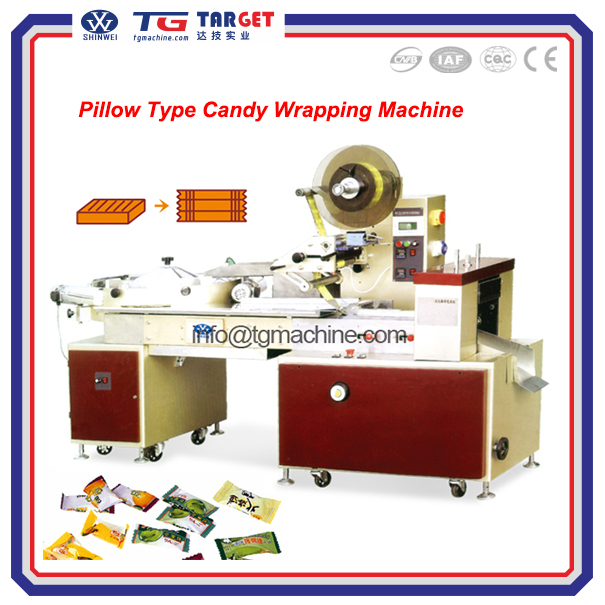 Automatic Pillow candy wrapping machine