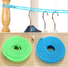 5M Windproof Travel Retractable Laundry Clothesline Clothes Line Rope For Outdoor Camping,colored clothes line rope