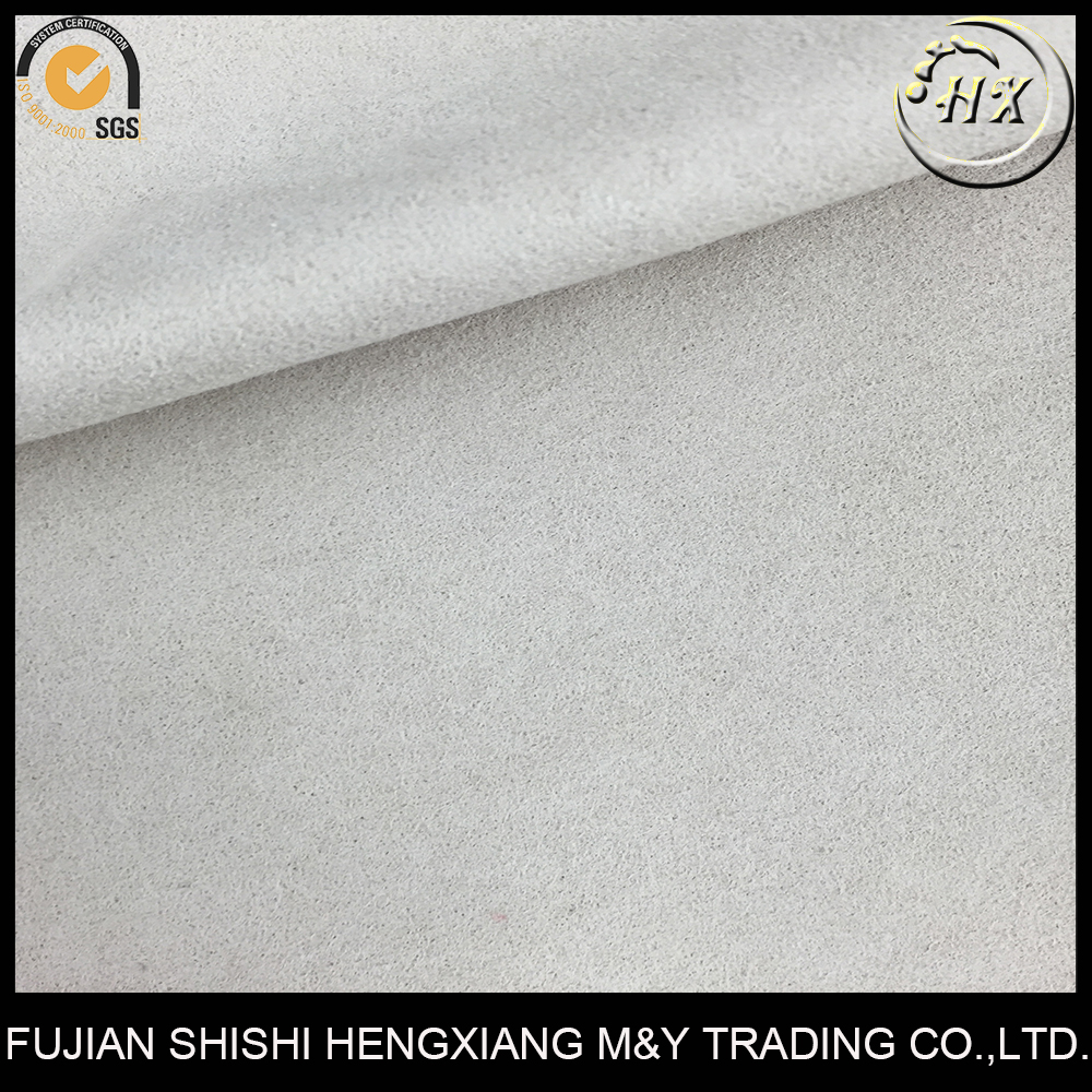 Fujian factory 0.8mm faux leather fabric for shoes making