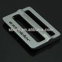 Customized Bag Logo Plate Metal Bag