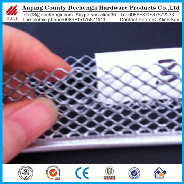 hot dipped galvanized expanded corner guards/mini bead mesh