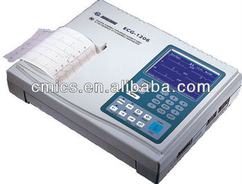 6 Channel LCD Screen EKG Machine