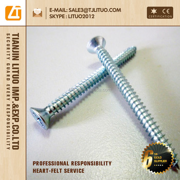 good quality, high efficient cost CSK self tapping screws