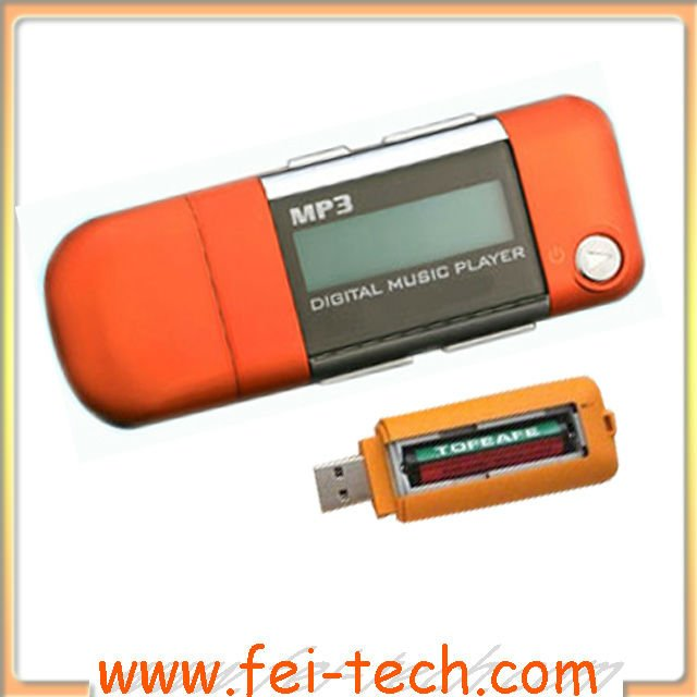New generation AAA battery mp3 player