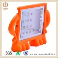 Rubber impact-resistant new bumper Case For iPad 2 3 4 for kids toddles with handle