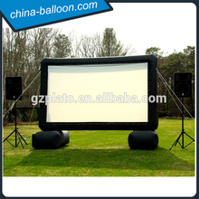 cheap customized Advertising billboard Inflatable Movie Screen/inflatable air screen with logo