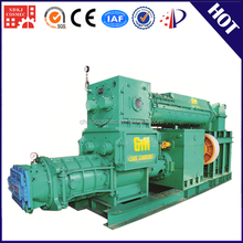 Factory price solid hollow clay vacuum extruder automatic concrete landscape curbing machine