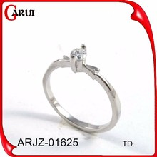 Factory direct indian silver rings wedding gifts wholesale jewelry engagement ring