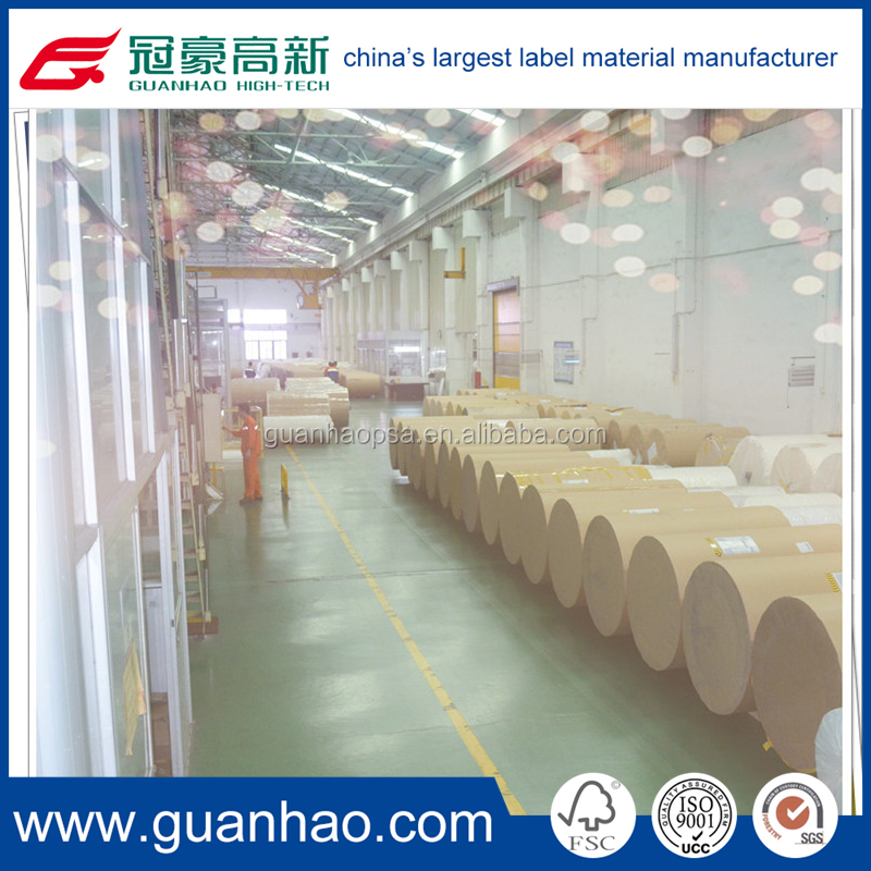 blank thermal label material rolls for supermarket scale label and price tag