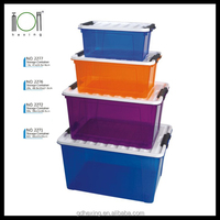Walmart Large Plastic Attached-Lid Storage Containers for Sale