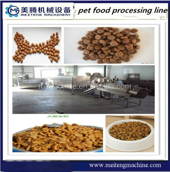 Pet dog food processing plant