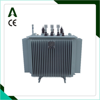 10kv 400v step up high voltage oil immersed 3 phase electric distribution transformers