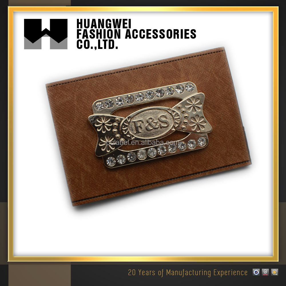 First-class Fancy Garment Hang Tag And Fake Leather Embossed Clothing Label