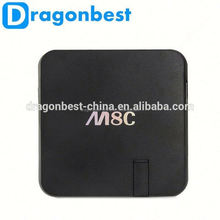 New Internet Google Android Tv Box M8C 5Mp Webcam 4K