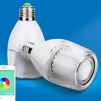 App Control Smart Led bulb with speaker Lighting Lamps for Home