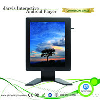 22 inch touch screen floor stand ad display stand advertising OEM android tablet