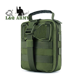 Tactical MOLLE Pouch, Rip-Away EMT Medical First Aid Utility IFAK Pouch
