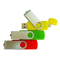 Multifunction newest OEM smart phone otg usb flash drive with dual port manufacturer
