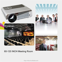 1080p HDMI tv projector mobile phone Projector LED 3d laser Android mobile wireless screen mirroring projector