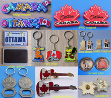 custom metalic canada ottwa animal keychains, custom canada series souvenir items
