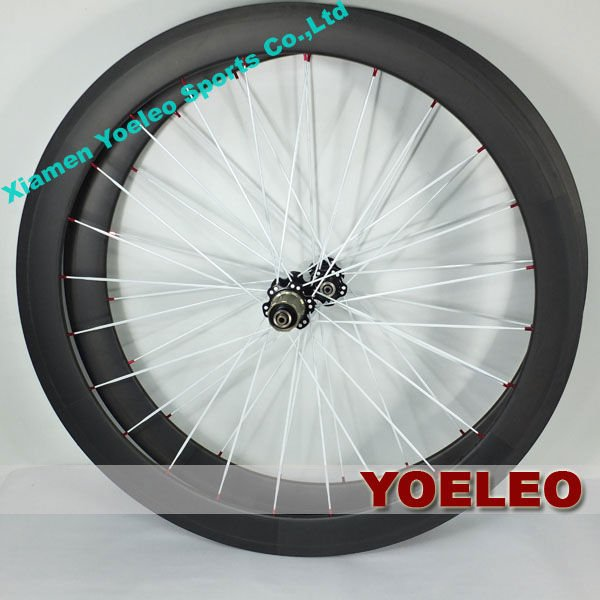 Best Price 700C Carbon Wheelset 50mm Tubular For Road Bike with Free Skewers And Brake Pads 3K 12K UD