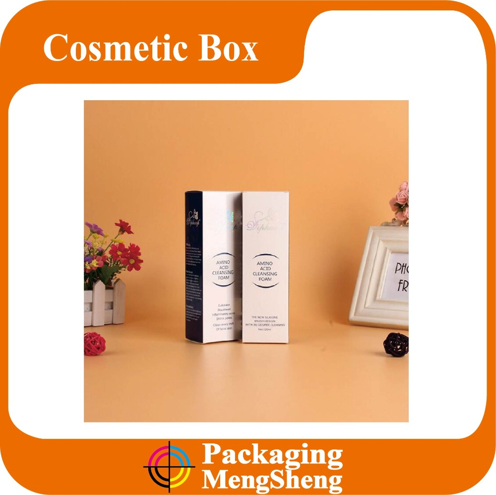 OEM Design Gift Paper Essential Oil & Perfume & Cosmetic Packaging Boxes