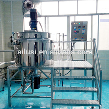 double jacketed mixing tank hair removal wax making machine