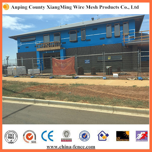 temporary mesh fence panels/ top clamp