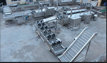 Industrial potato chips fryer making machine