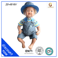 blue jeans silicon baby doll/silicon baby doll life like