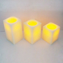 set of 3 scent square candle wax ingredients