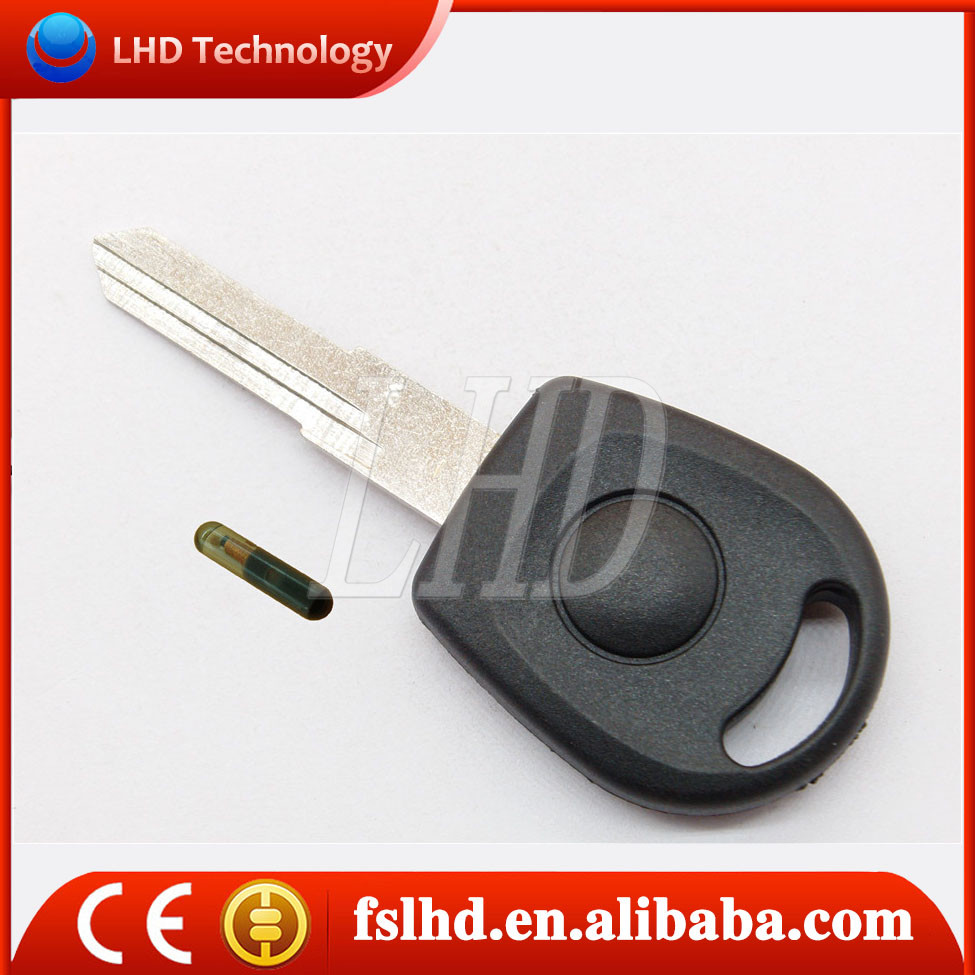 Hot sale transponder key blank for VW Jetta car transponder key with T5 glass chip clone