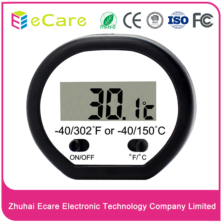 OEM&ODM home use digital instant sensor LCD display pen style meat thermometer for pork,beef,chicken with CE,ISO certification