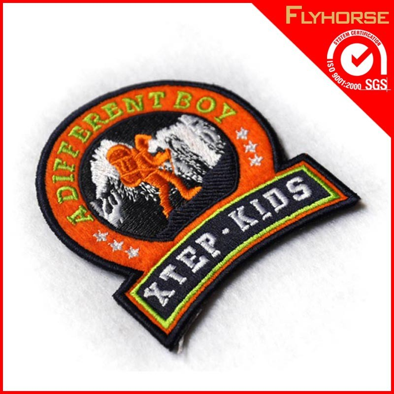 Embrodery customized patch embrodery applique