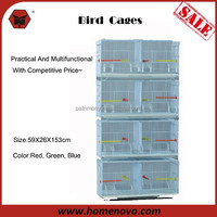 Quality Supplies 2016 Hot Sale High Quality Wholesale 4 Layers Foldable Breeding Bird Cage