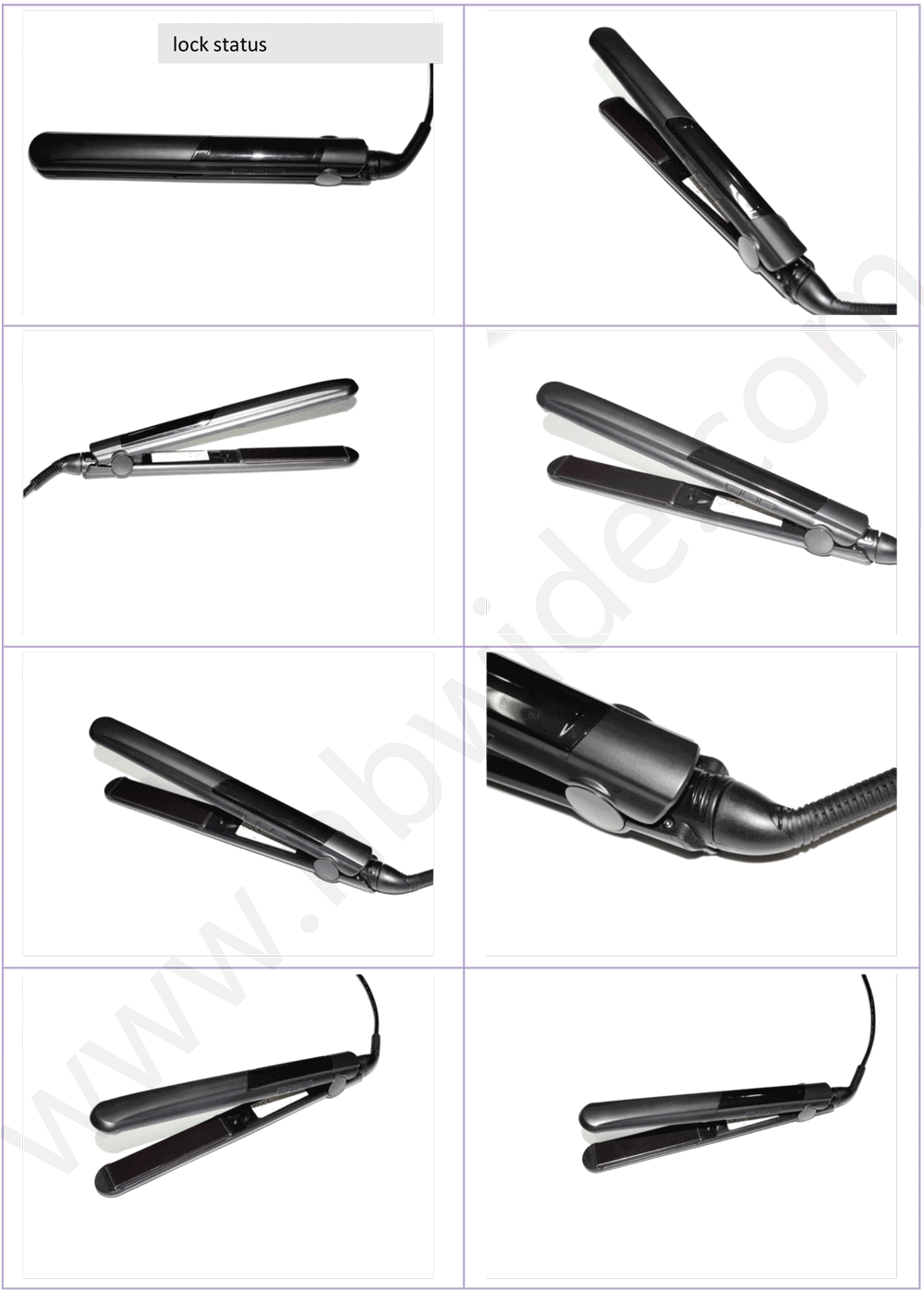 Wide Voltage Anion Ionic Hair Straightener From Alibaba Hair Salon Equipment Supplier