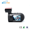 Lexitek D05 Ambarella A7LA50 Chipset with OV4689 Image Sensor Car DVR with Optional GPS Tracking Upgrade